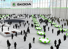 Skoda Konzeptvisualisierung