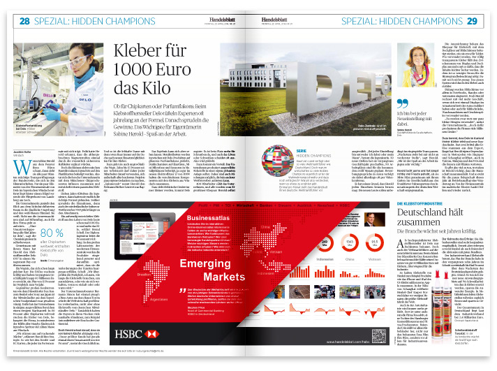 Handelsblatt <br />Businessatlas