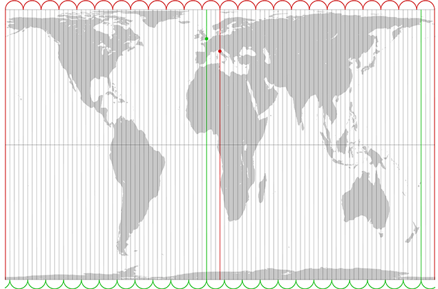 Equal Area Peters Projection