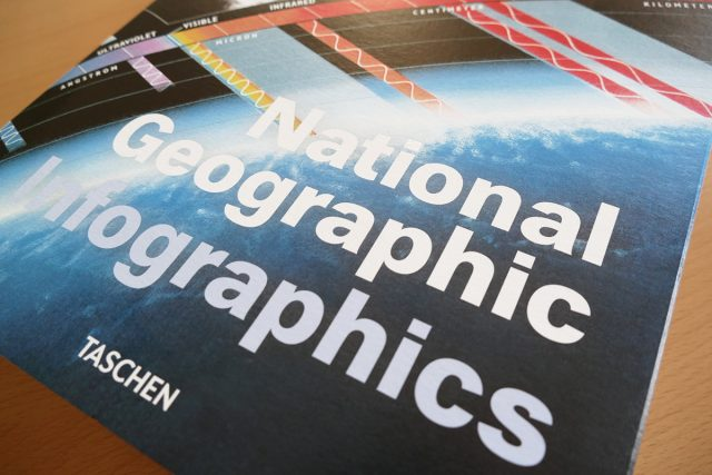 National Geographic infographics from publisher Taschen